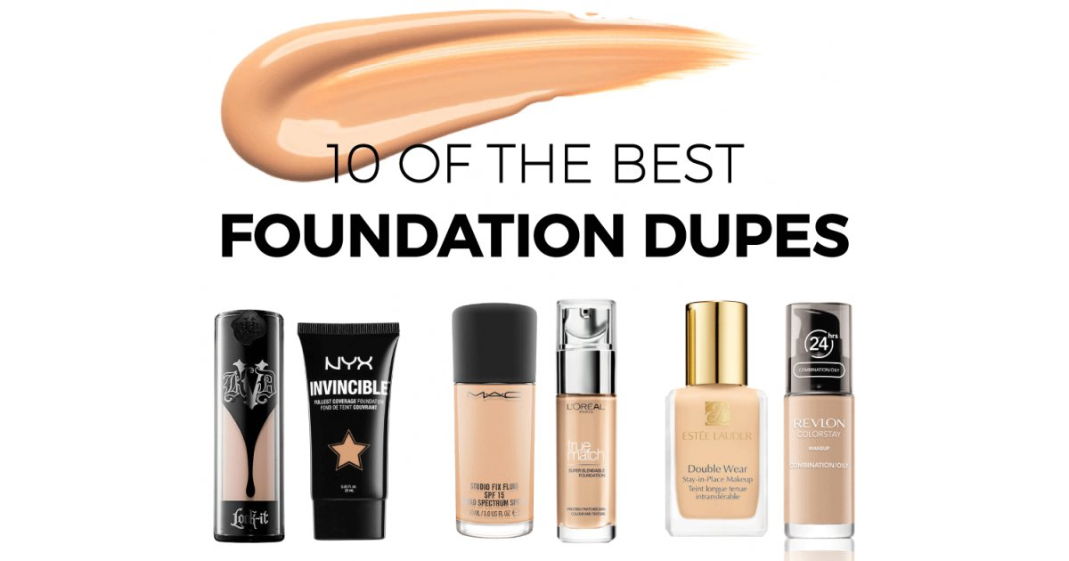 Ten Of The Best High Street Foundation Dupes UK (With