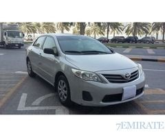 Toyota Corolla 2012 1. 6 GCC Specs For Sale In Dubai