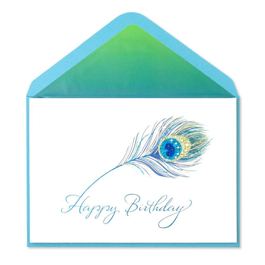 Strut Your Style With This Brilliant Birthday Card Vivid Glitter Accents Mini Gems And