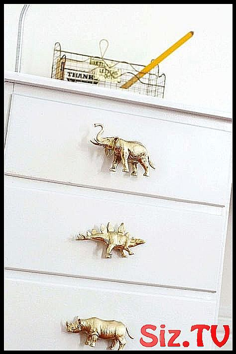 How To Make DIY Drawer Pulls from Just About Anyth