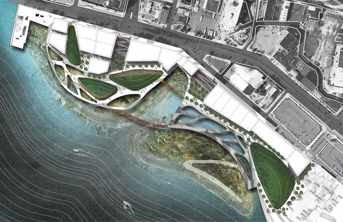 Ph d in architecture focus in landscape architecture for Waterfront landscape design