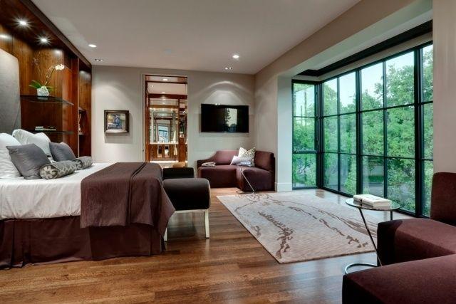 fensterfront schlafzimmer holzboden beige bordeaux Home - bordeaux schlafzimmer