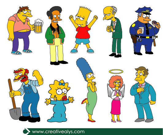 An analysis of the simpsons created by cartoonist matt groening