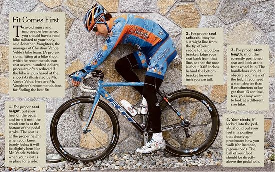 To Achieve The Ultimate Ride Your Bike Should Be Tailored To Your