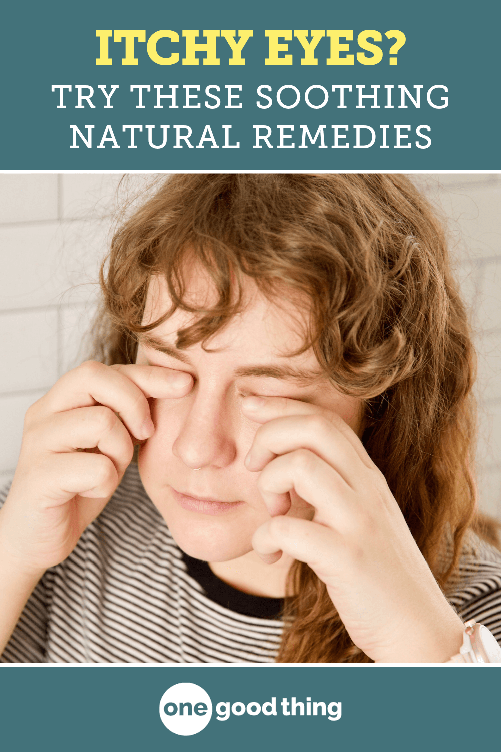 16 Effective Remedies That Will Soothe Itchy & Red Eyes