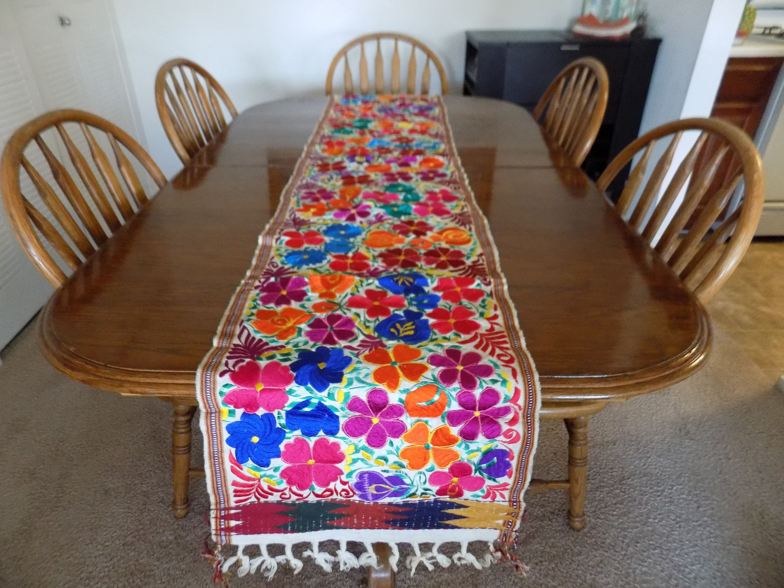 Hand Made Beaded Table Runner For Home Decor And Dinning Decor