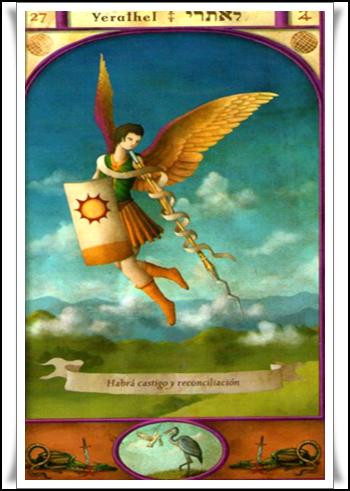 Las Revelaciones del Tarot: Yerathel - Genio Numero Ventisiete de La Cabala