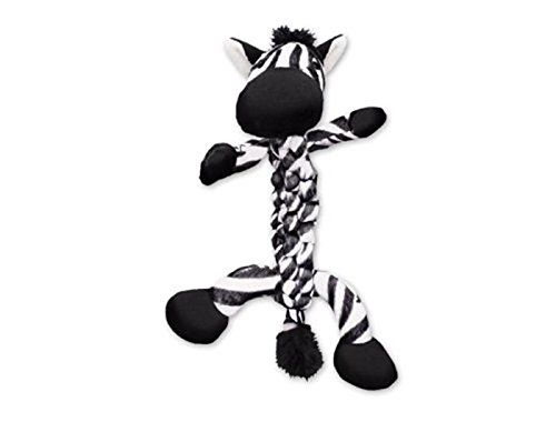 Kong Braidz Zebra Dog Toy Medium Startling Review Available