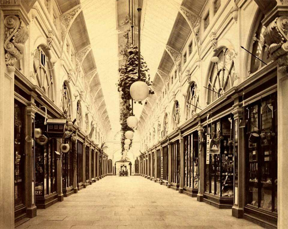 1870 Photo Of The Royal Arcade In Melbourne Victoria