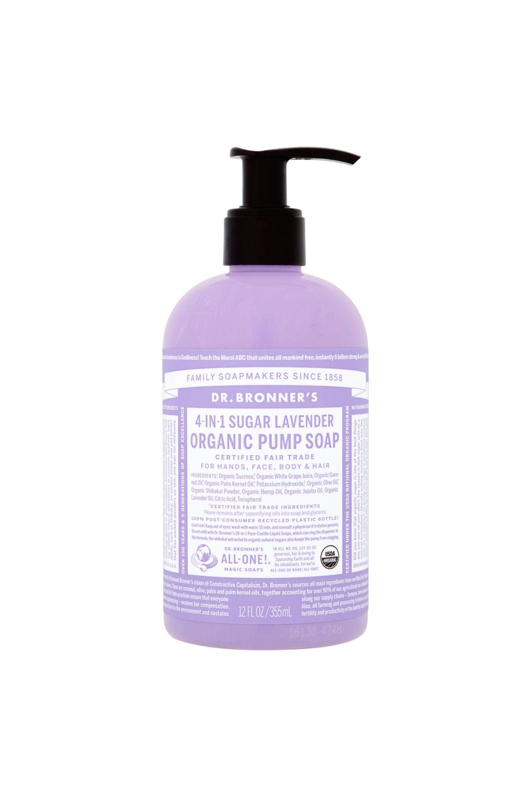 Amazon Com Customer Reviews Dr Bronner S Organic Lavender Hand