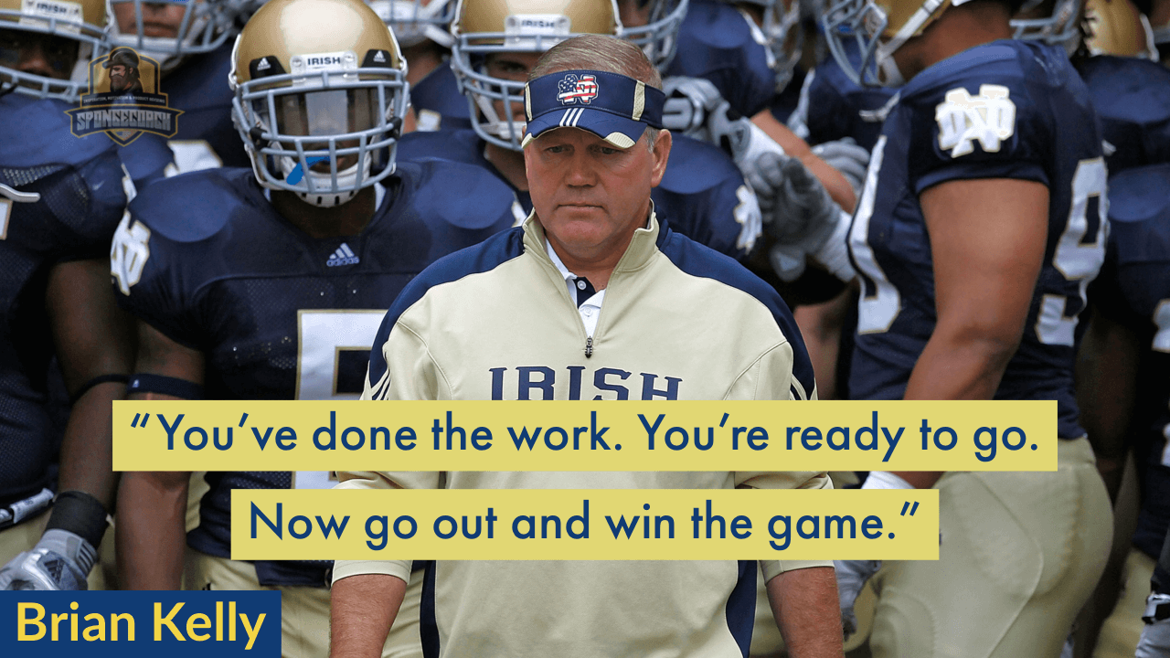 40 Best Brian Kelly Quotes On Coaching Success And The Process
