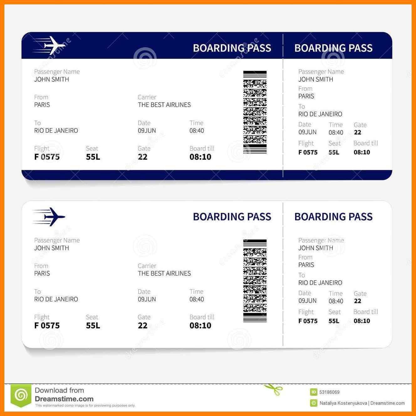 6 Free Printable Boarding Pass Template St Columbaretreat House Ticket Vorlage Bordkarte Flugzeug Ticket