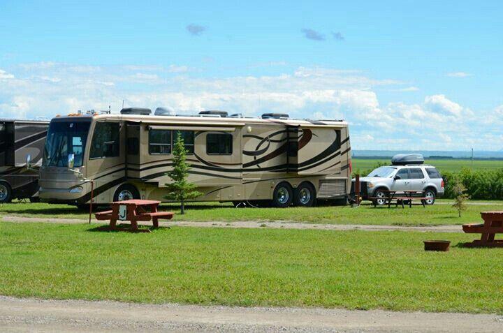 Grandview Rv Park Granum Alberta Canada Our Home Rv Parks Recreational Vehicles Rv Full