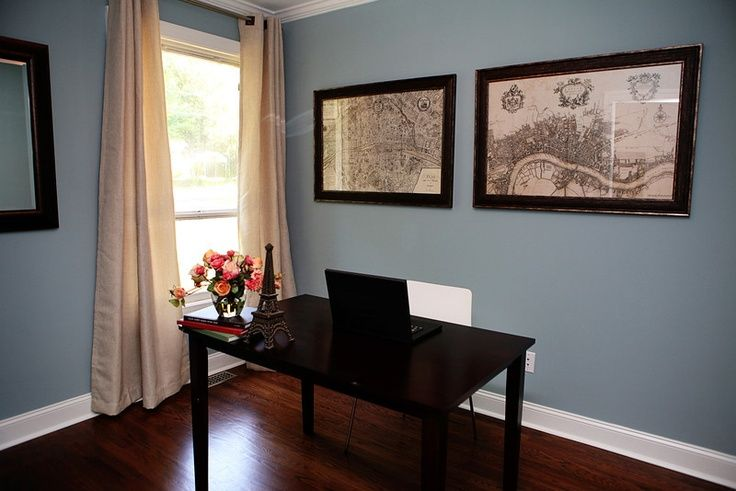 pictures of rooms with interesting aqua from sherwin on modern office paint schemes id=46283