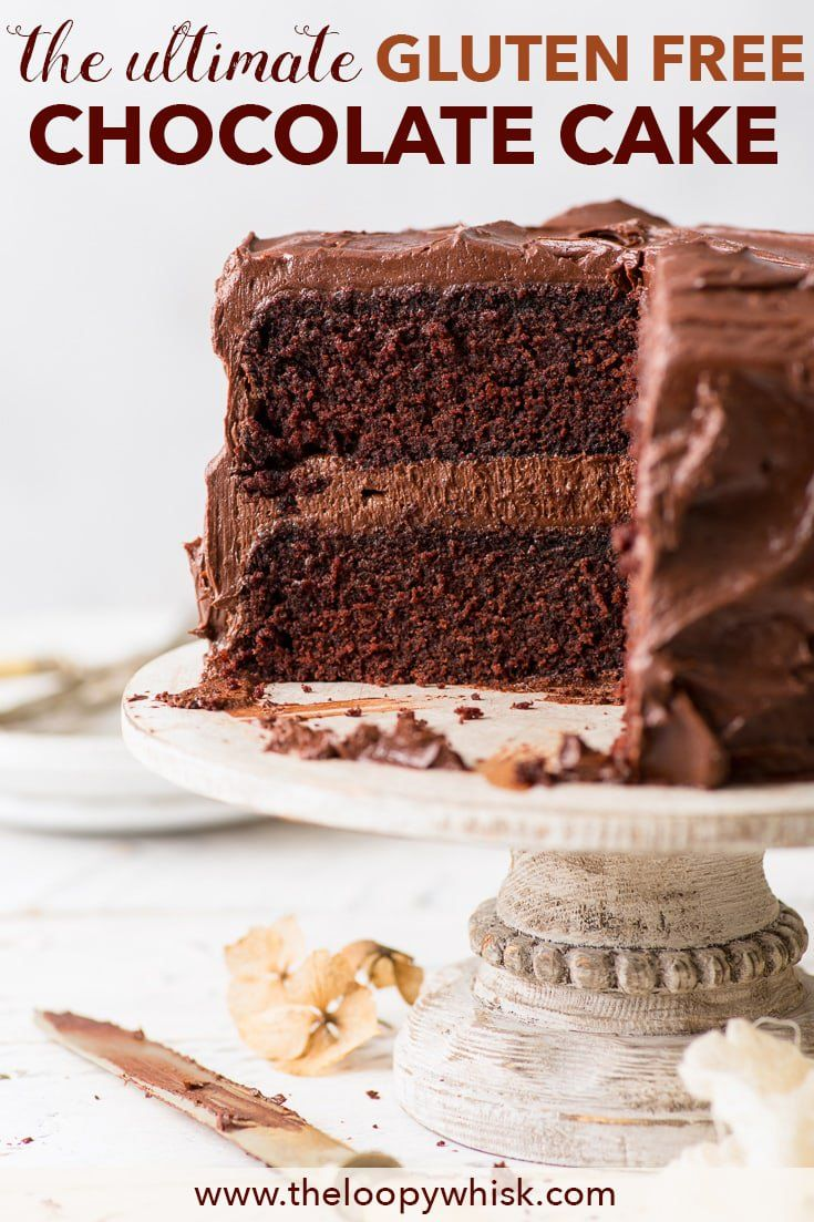 The Ultimate Gluten Free Chocolate Cake With meltinthe