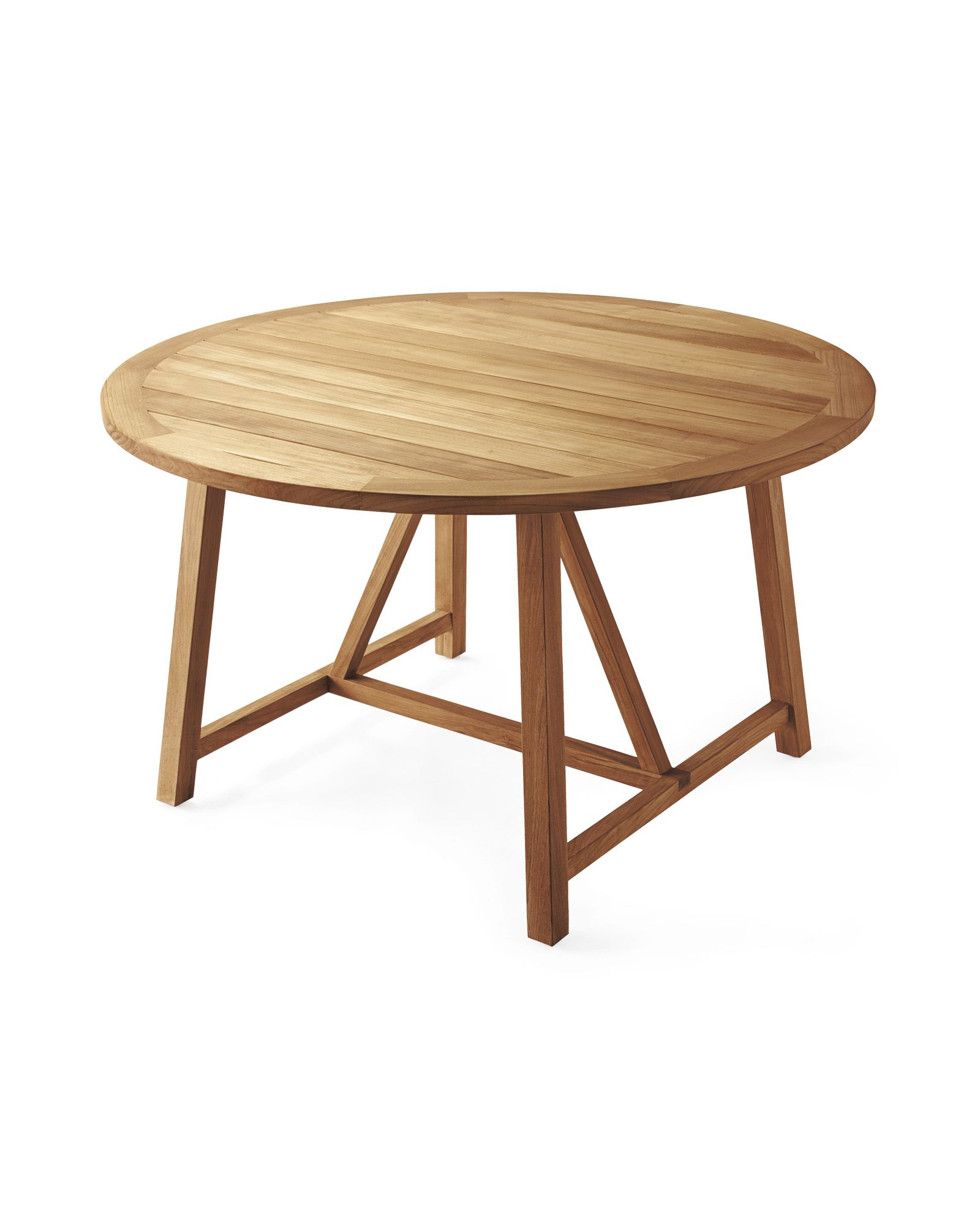 Crosby Teak Round Dining Table Natural Round Dining Table Teak Dining Table Round Dining