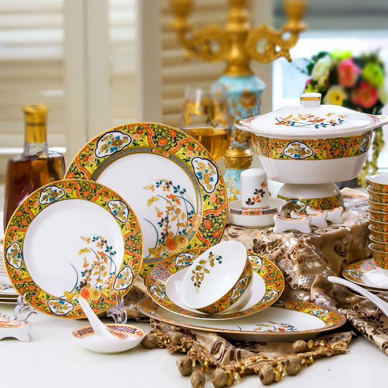 Find More Dinnerware Sets Information about Boutique ceramics creative high grade bone china tableware suit 56 & Find More Dinnerware Sets Information about Boutique ceramics ...