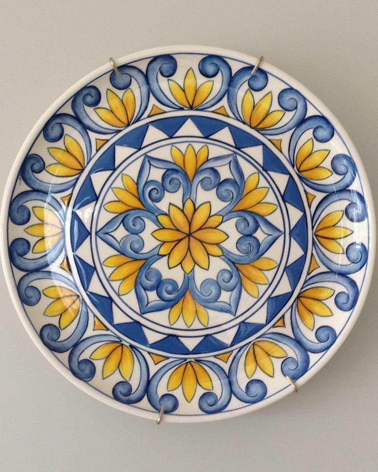 ceramic painted by mara ribeiro santa cer mica peinture. Black Bedroom Furniture Sets. Home Design Ideas