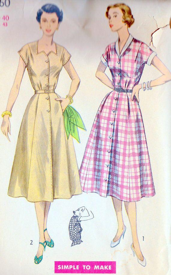 1950s Women's Plus Size Rockabilly Dress