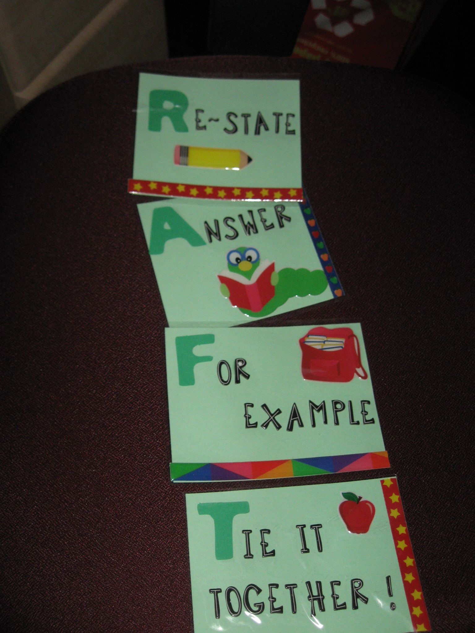 Raft Reading Comprehension Strategy