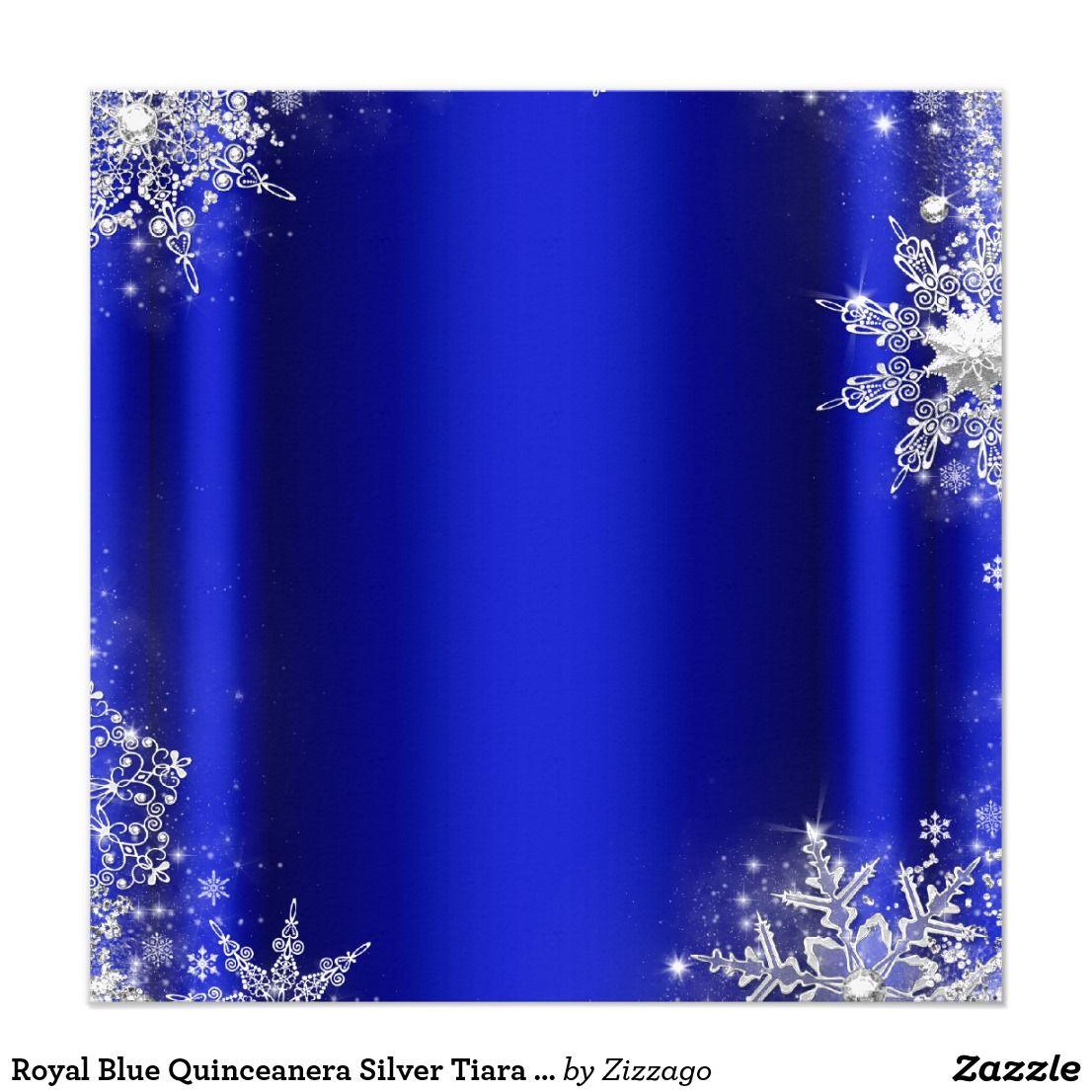 royal blue quinceanera silver tiara