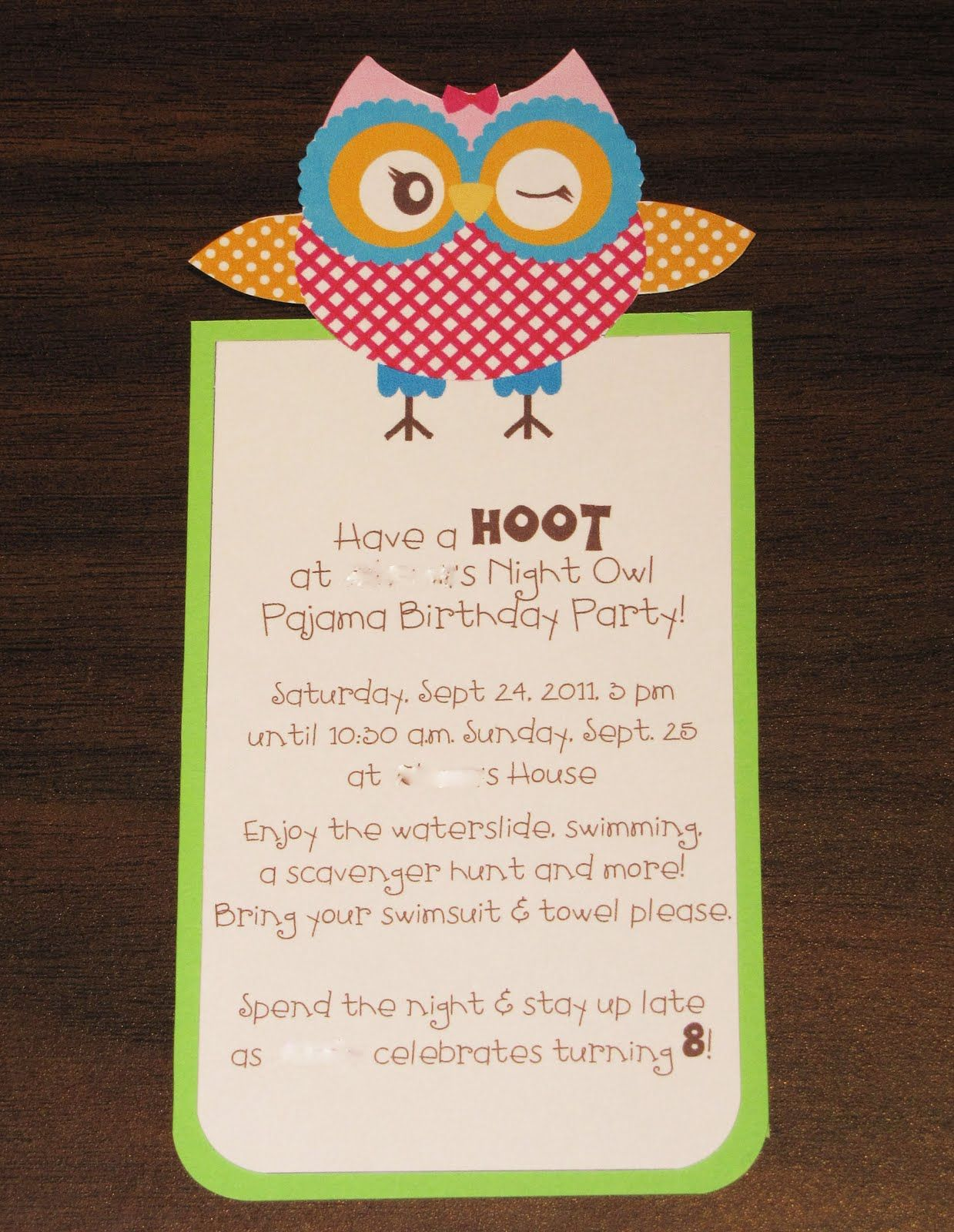 Jens happy place owl themed birthday party the invitation jens happy place owl themed birthday party the invitation filmwisefo