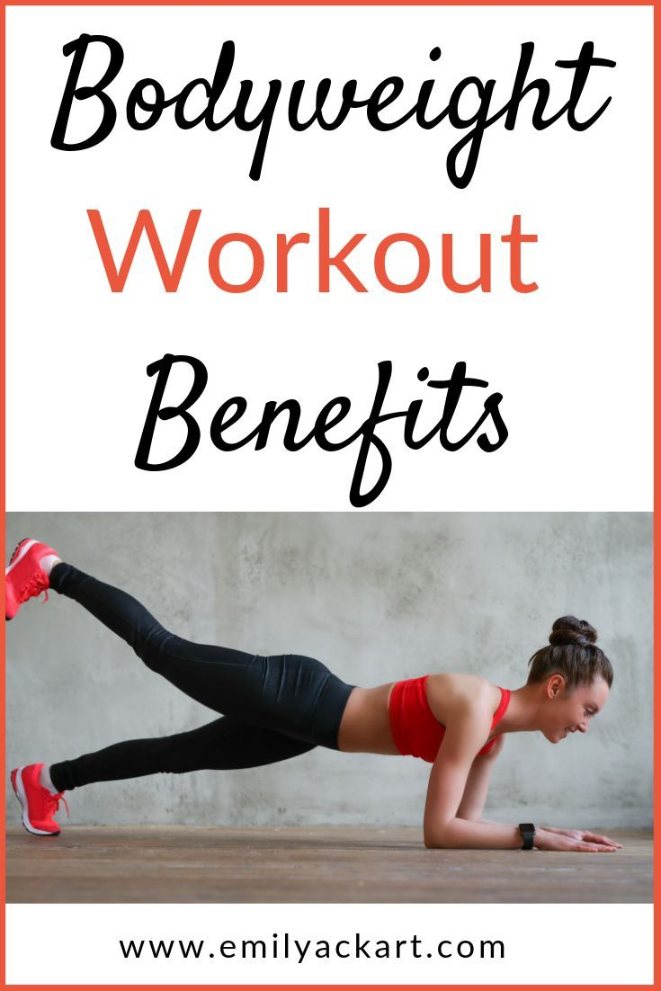 Bodyweight workouts offer lots of benefits. You can do them in your at home gym with no equipment ne...