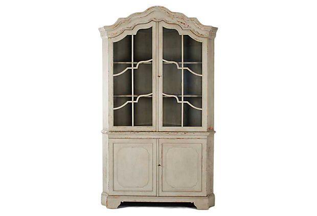 Good Hazel Corner Cabinet On One Kings Lane DIY Finish For Hutch