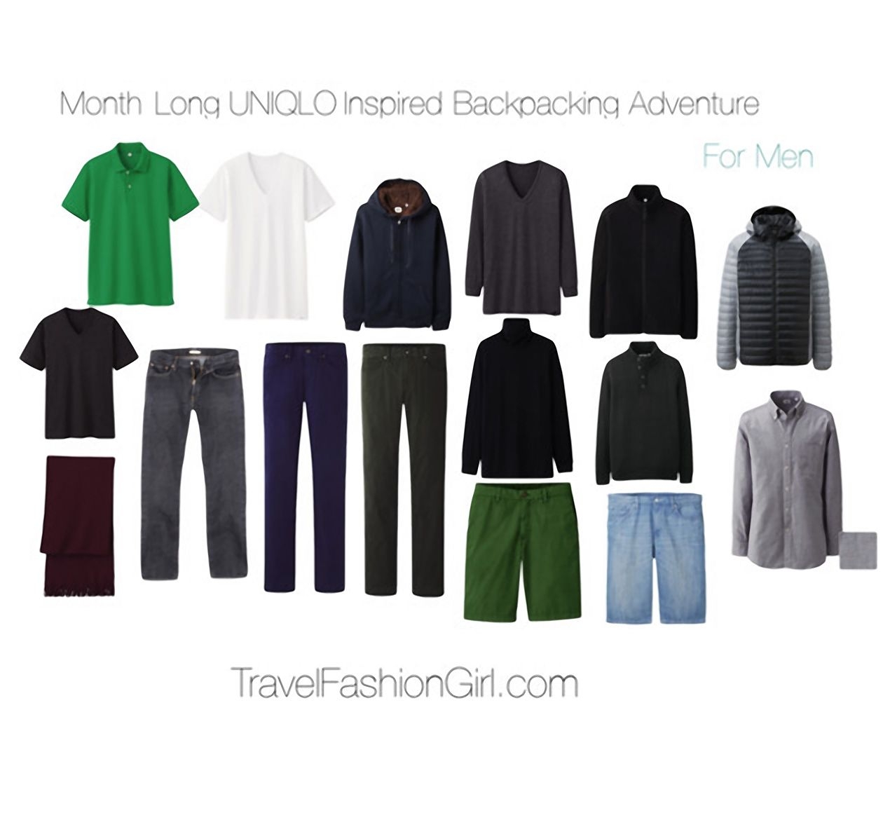 Ultralight Warmth Uniqlo 30 Day Packing List Travel Outfit Winter Travel Outfit Travel Essentials Men
