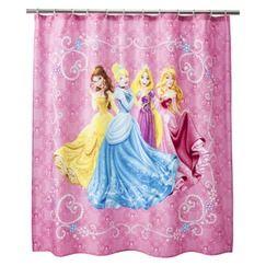 kids shower curtain princess shower
