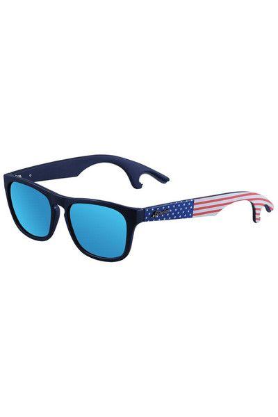 Bottle Poppin Patriot Usa Stunner Shades Sunglasses American Flag Sunglasses Sunglasses Shades Sunglasses