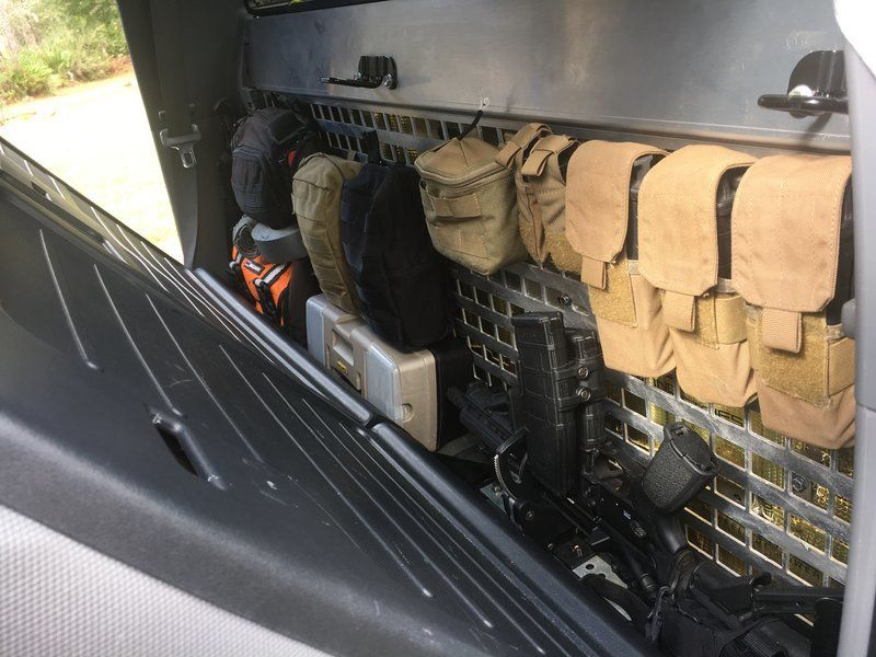 Group Buy 10 Rear Seat Molle Panels And Bed Management System For 2nd 3rd Gen Dc Or Ac