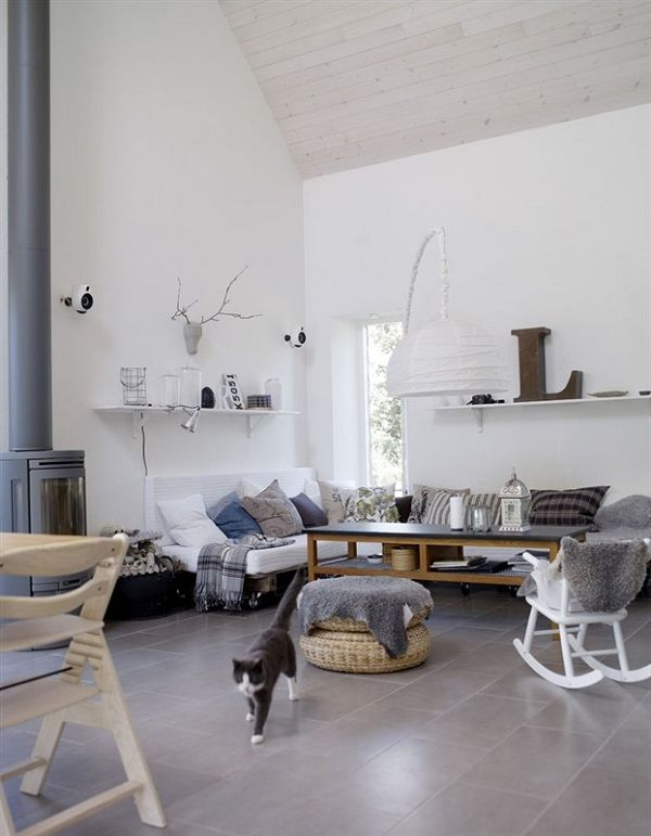 Classic Cream Blue Nordic Knots In 2020 Minimalism Interior Interior Design Furniture Interior Design