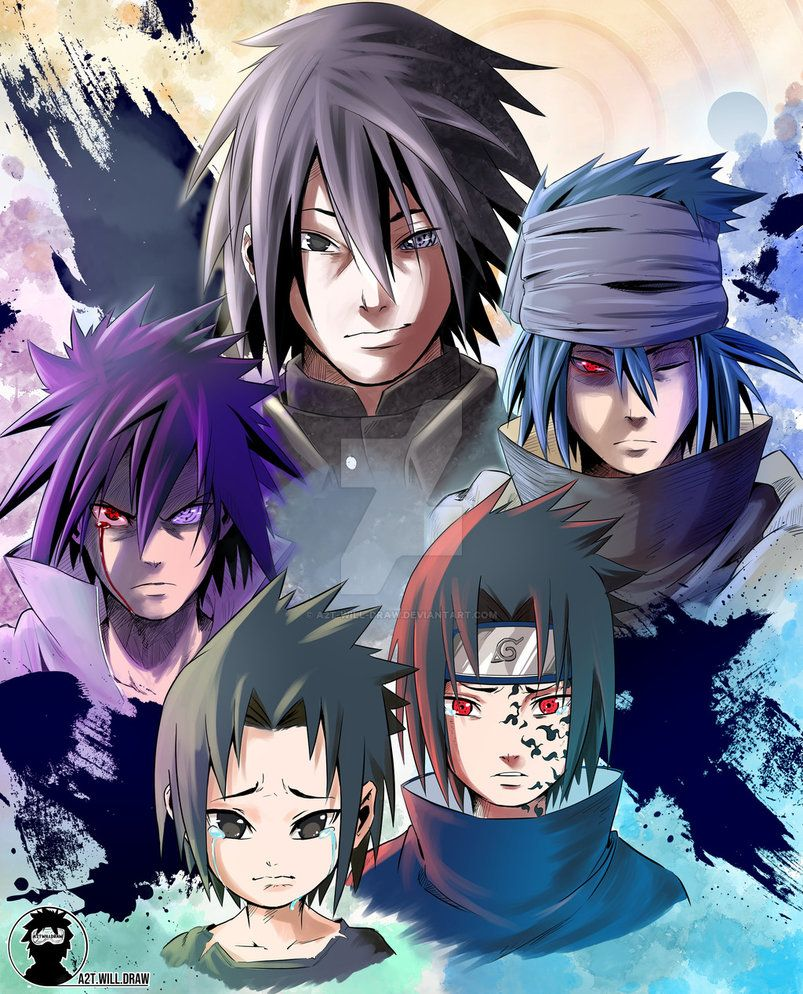 Sasuke Mangekyo Sharingan Wallpaper Jiraya Desenho Animes