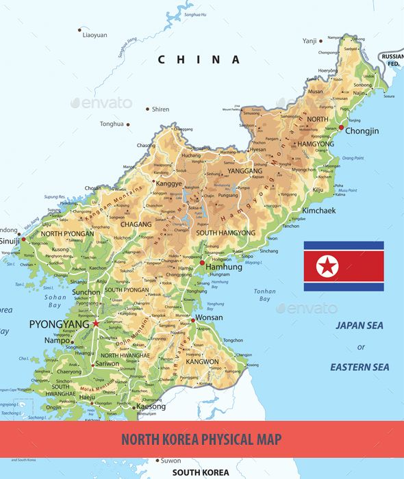 North Korea Physical Map Vector File Font Logo And Fonts - Physical world map svg