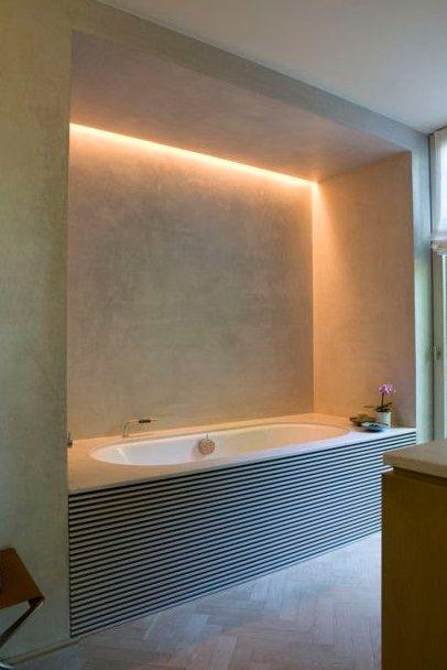 barra-led-come-illuminare-il-bagno | scale | Pinterest | Modern
