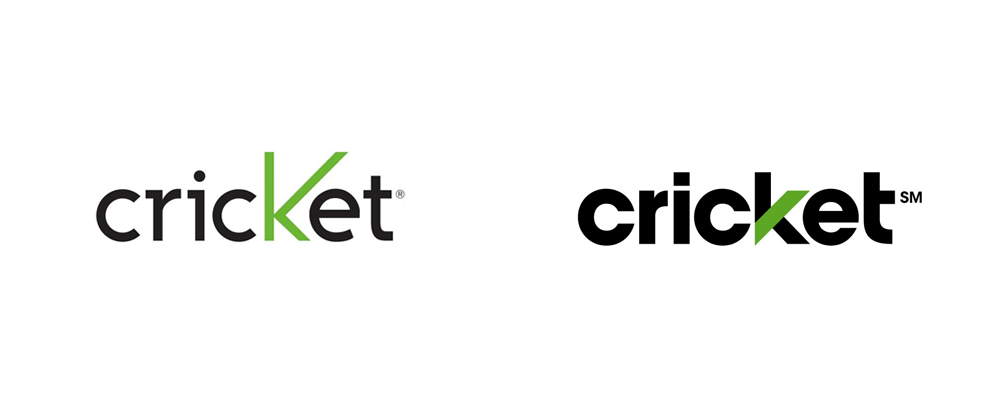 Brand New New Logo For Cricket Wireless Cricket Wireless Logos Logo Evolution