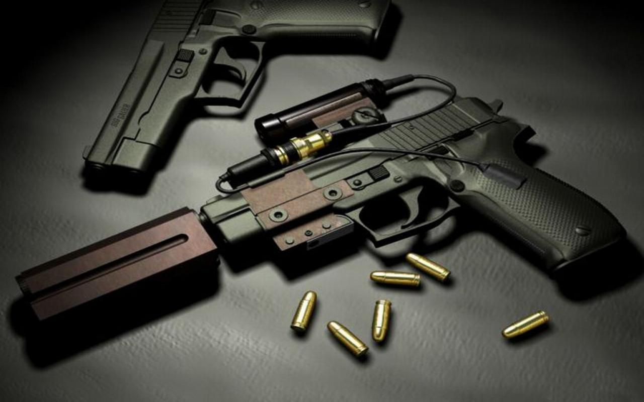 Bullet 3D Wallpapers | home designs | Hand guns, Guns, Weapons