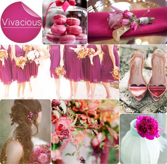 5. Herbst Deko Lila Hochzeit Idee Brautjungfernkleider Brautschuhen  Trendfarbe 2013 Herbst Hochzeitsfarbe 2013
