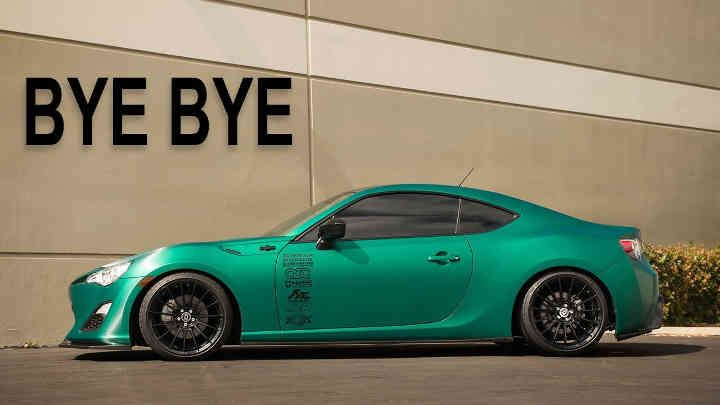 The FRS Is Already Gone | Tanner Fox cars | Tanner fox