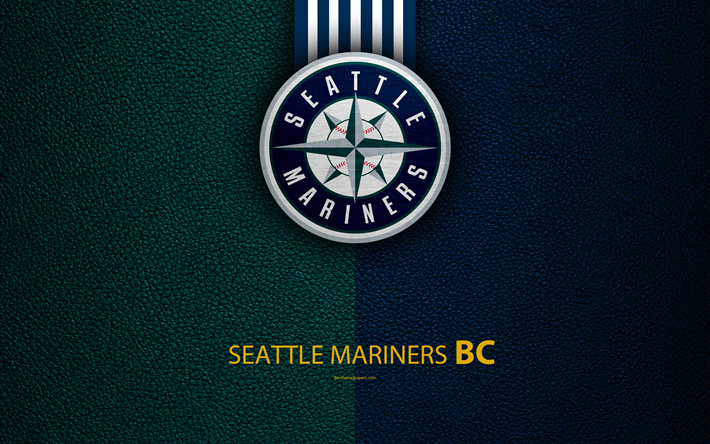 Download Wallpapers Seattle Mariners 4k American Baseball Club