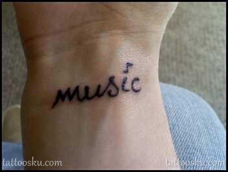 Cool Wrist Music Tattoos For Men Tattoo Ideas Tattoos Wrist