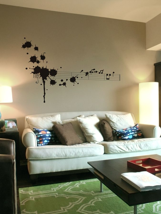 Supernice Splatter In D Minor Black Graphic Walls Pinterest