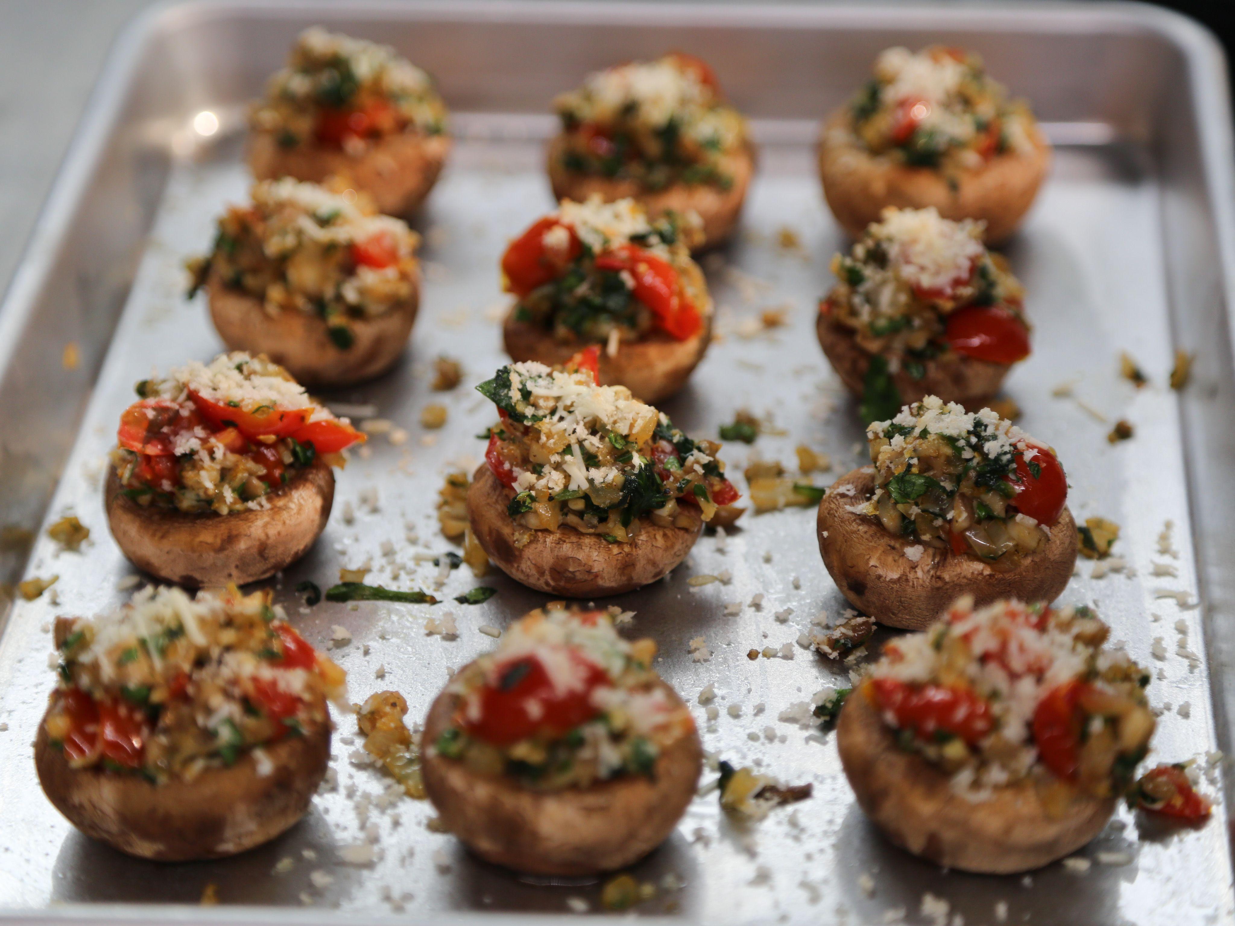 living heart diet cookbook stuffed mushroom caps