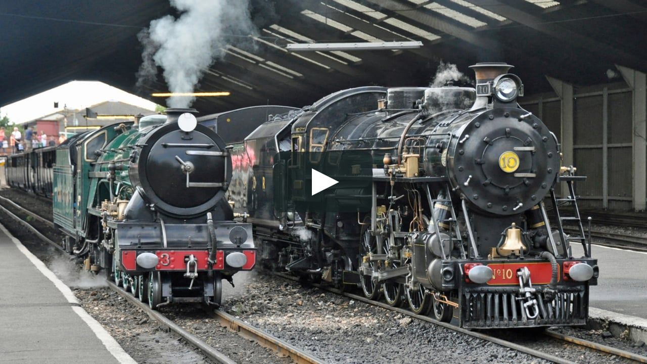 Video Of The Romney Hythe Dymchurch Railway In 2018 With Images Heritage Railway Railway Romney