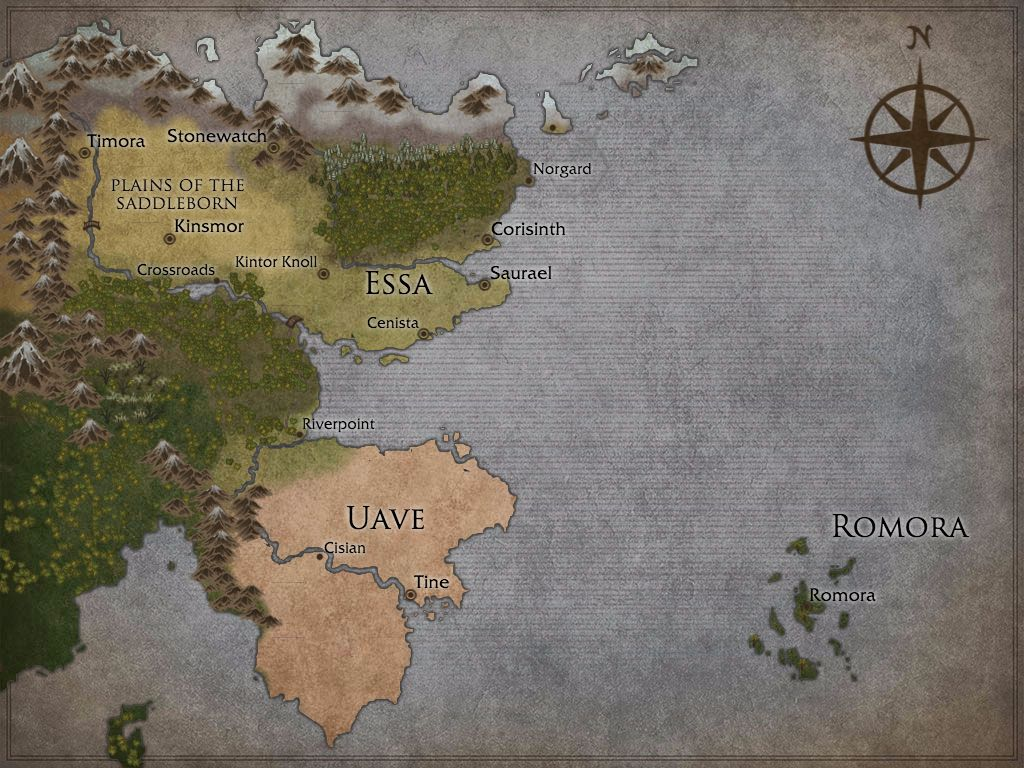 World map of waldrael detailing specific locations throughout the world map of waldrael detailing specific locations throughout the fantasy world created using inkarnate gumiabroncs Choice Image