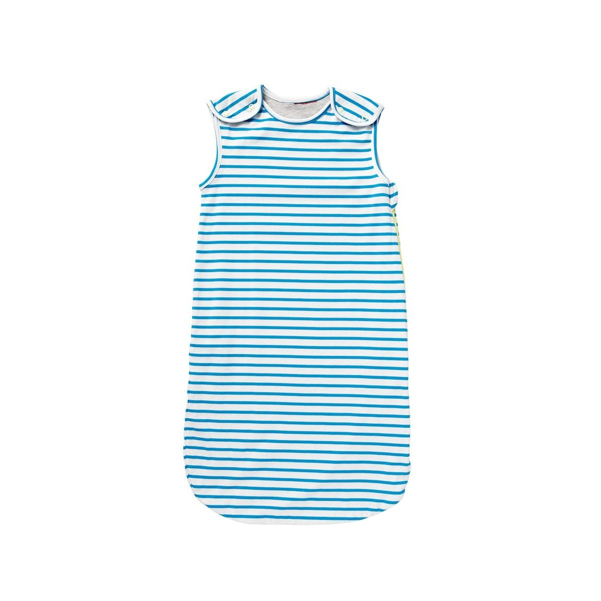 Bonds Lil Dreamer Summer Snugglesuit - Blue Marine and White Stripe | Bonds Baby Sleeping Bags Sale Outlet Australia