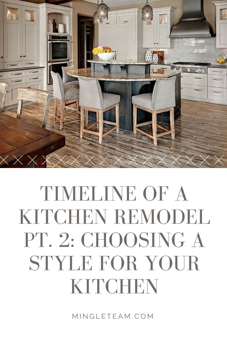 timeline of a kitchen remodel pt 2 choosing a style for your kitchen the last step in the on kitchen remodel timeline id=36953