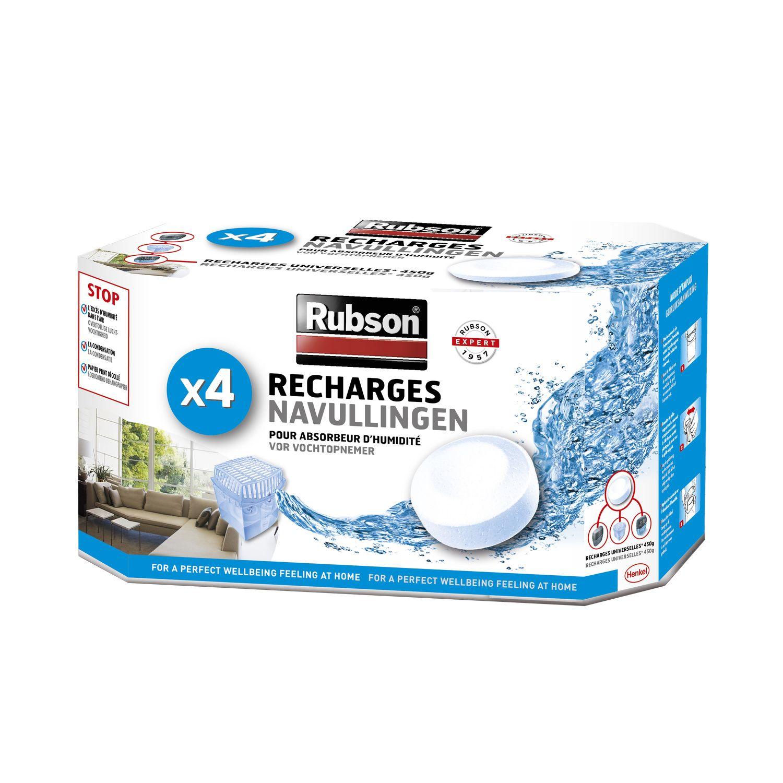 Recharges Pour Absorbeur D Humidite Rubson La Boite De 4 A Prix Absorbeur D Humidite Deshumidificateur Et Tablette