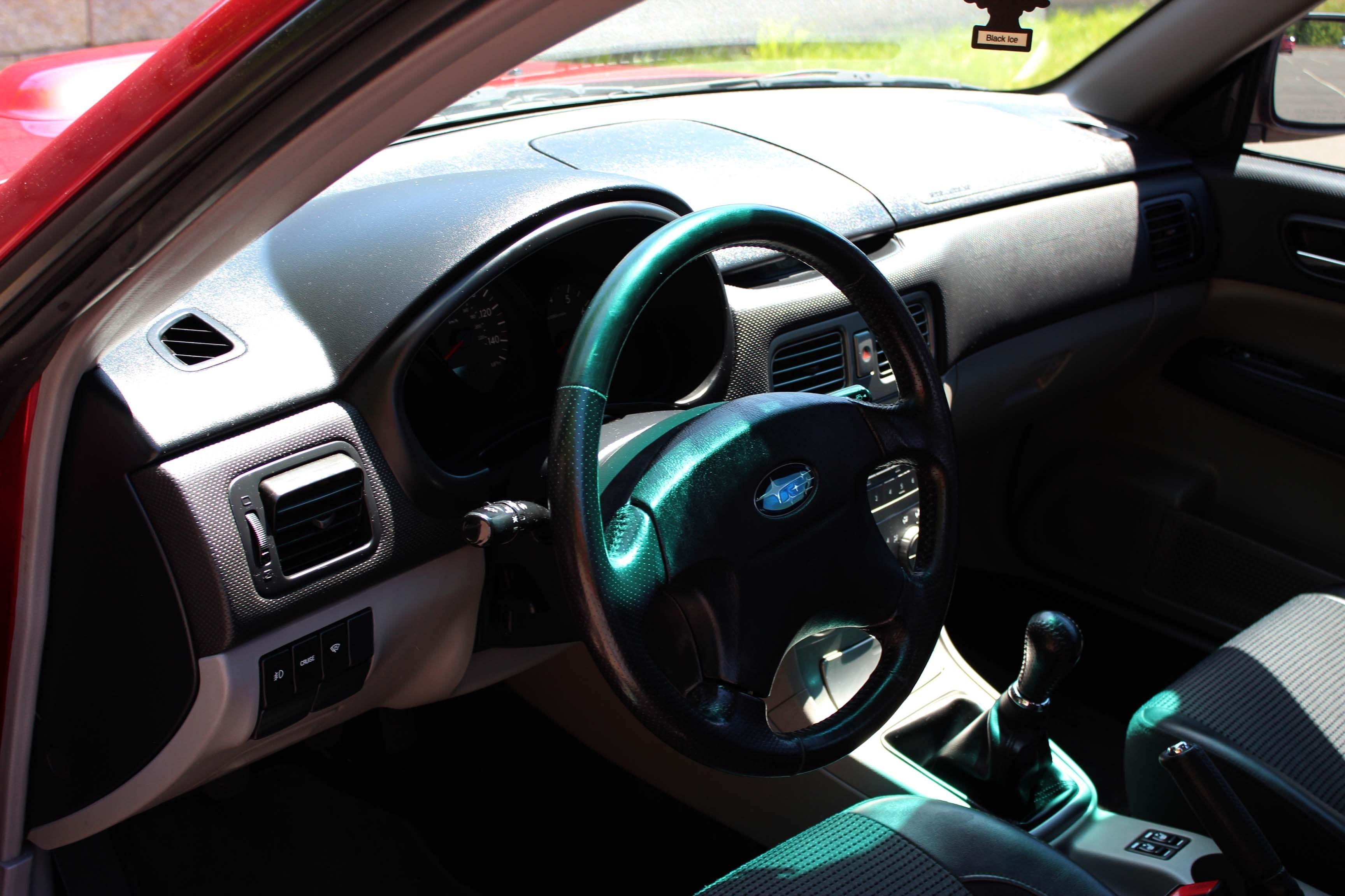 SHIFT_5speed 2004 Subaru ForesterXT Sport Utility 4D Specs